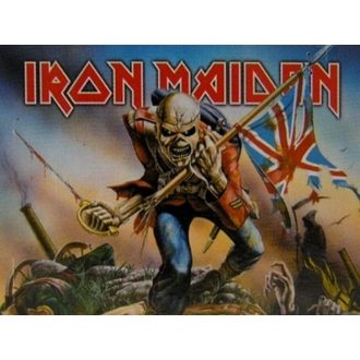 zastava Iron Maiden - Trooper, HEART ROCK, Iron Maiden