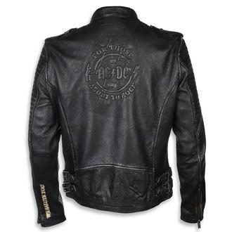 Kožna jakna AC-DC - Crno / bež - NNM, NNM, AC-DC