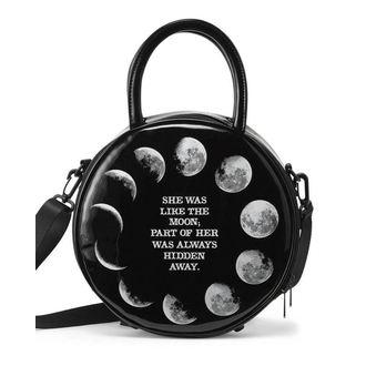 Ručna torba KILLSTAR - PHASES - BLACK, KILLSTAR