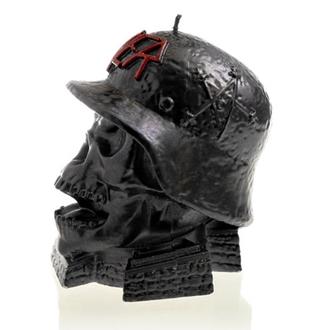 Svijeća SLAYER - WEHRMACH - BLACK METALIK - PLASTIC HEAD, PLASTIC HEAD, Slayer