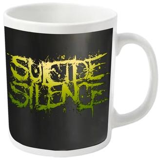 Šalica SUICIDE SILENCE - LOGO - PLASTIC HEAD, PLASTIC HEAD, Suicide Silence