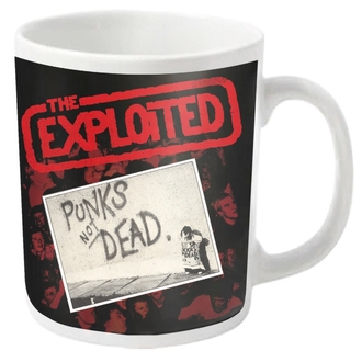 Šalica EXPLOITED - PUNKS NOT DEAD - PLASTIC HEAD, PLASTIC HEAD, Exploited