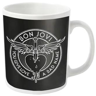 Šalica BON JOVI - BAD NAME - PLASTIC HEAD, PLASTIC HEAD, Bon Jovi