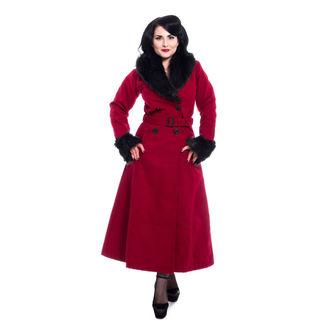 Ženski kaput Rockabella - BIANCA - RED, ROCKABELLA