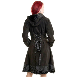 Ženski kaput POIZEN INDUSTRIES - MINX - CRNI, POIZEN INDUSTRIES