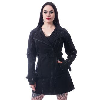 Ženski kaput CHEMICAL BLACK - CANAL - CRNA, CHEMICAL BLACK
