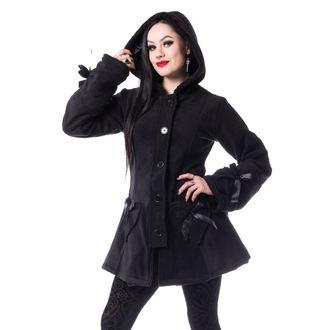 Ženski kaput POIZEN INDUSTRIES - ALISON - BLACK, POIZEN INDUSTRIES