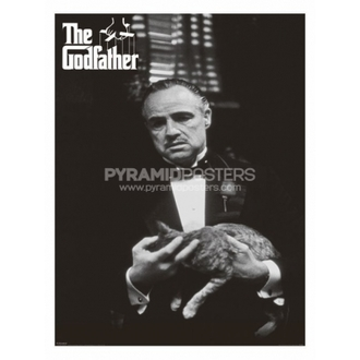 plakat - The Godfather (Cat B & W) - PP30526, PYRAMID POSTERS