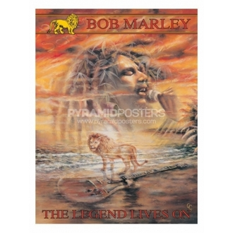 plakat - Bob Marley (Legenda Živi On) - PP30664, PYRAMID POSTERS, Bob Marley
