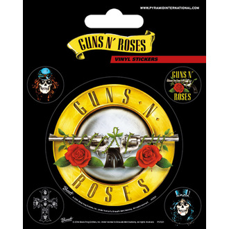 Naljepnice Guns N' Roses - PYRAMID POSTERS, PYRAMID POSTERS, Guns N' Roses