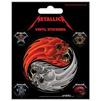 Naljepnice Metallica - PYRAMID POSTERS, PYRAMID POSTERS, Metallica