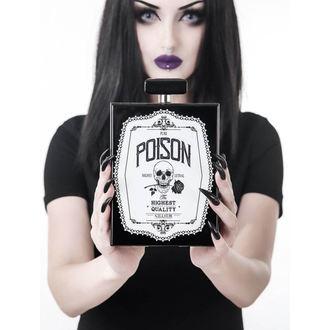 Torba (ručna torba) KILLSTAR - Pure Poison Clutch - CRNA, KILLSTAR