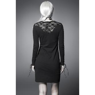 Ženska haljina PUNK RAVE - Black Nightingale, PUNK RAVE