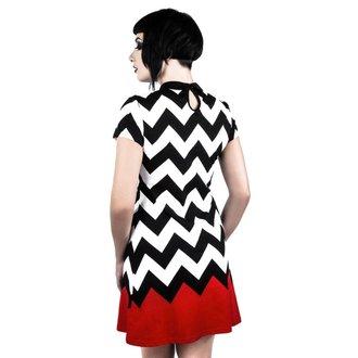 Ženska haljina KILLSTAR - RED ROOM - BLACK, KILLSTAR