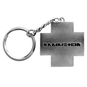 Privjesak za ključeve RAMMSTEIN - Logo Schlüsselanhänger - siva, RAMMSTEIN, Rammstein