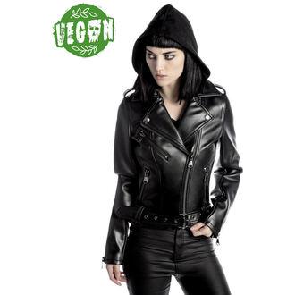 Kožna jakna - Ruth Less Veganomicon Biker - KILLSTAR, KILLSTAR