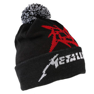 Kapa Metallica - Glitch Star Logo - Black tkani Bobble, Metallica
