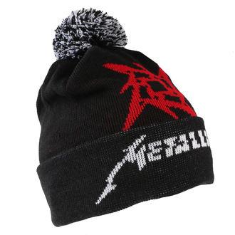 Kapa Metallica - Glitch Star Logo - Black tkani Bobble, Metallica