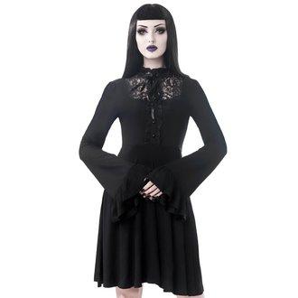 Ženska haljina KILLSTAR - Sabrina Ruffle - CRNA, KILLSTAR