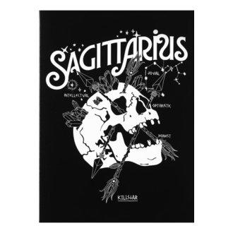 Čestitka KILLSTAR - Sagittarius - BLACK, KILLSTAR