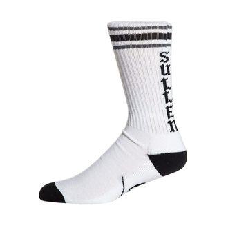 Visoke čarape SULLEN - SPIT FIRE - BIJELA / CRNA, SULLEN