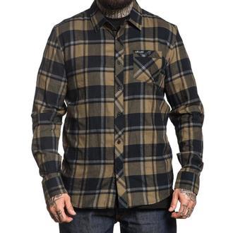 Muška košulja SULLEN - BIRCHWOOD - BLACK / GREEN / GREY, SULLEN