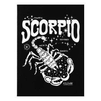 Čestitka KILLSTAR - Scorpio - BLACK, KILLSTAR