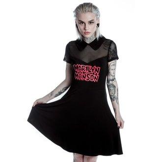 Ženska haljina KILLSTAR - MARILYN MANSON - Sedate - Crna, KILLSTAR, Marilyn Manson