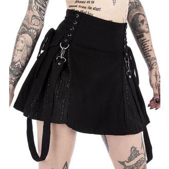 Suknja ženska KILLSTAR - Sinister Scouts - Black, KILLSTAR
