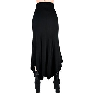 Ženska suknja KILLSTAR - Slack Alice - BLACK, KILLSTAR