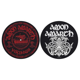 Gramofonska podloga (Set 2 kom) Amon Amarth - Vikings - RAZAMATAZ, RAZAMATAZ, Amon Amarth