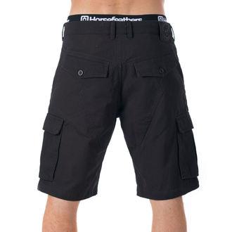 Muške kratke hlače HORSEFEATHERS - BRILL - Crna, HORSEFEATHERS