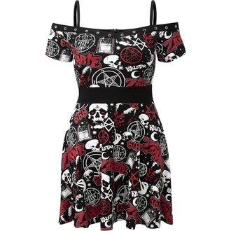 Ženska haljina KILLSTAR - ROB ZOMBIE - Spookshow - CRNA, KILLSTAR, Rob Zombie
