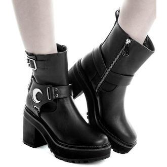 Ženske wedge čizme - STARLIGHT BIKER - KILLSTAR, KILLSTAR