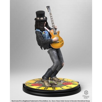 Figurica Guns N' Roses - Slash - Rock Iconz - KNUCKLEBONZ, KNUCKLEBONZ, Guns N' Roses