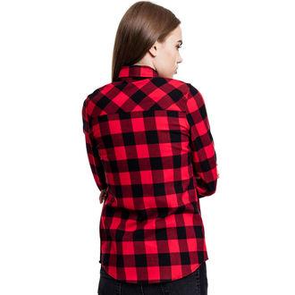 Ženska košulja URBAN CLASSICS - Turnup Checked Flannel, URBAN CLASSICS