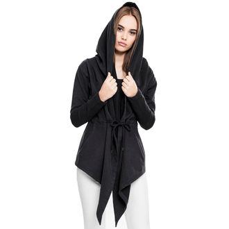 Ženska dukserica - sweat Cardigan - URBAN CLASSICS - TB1330-black