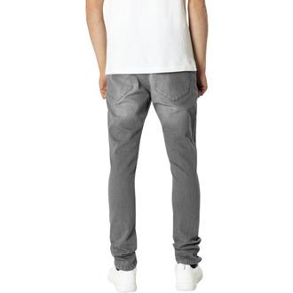 Muške hlače URBAN CLASSICS - Slim Fit Knee Cut Denim, URBAN CLASSICS
