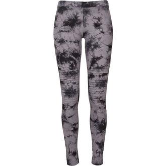 Ženske hlače (tajice) URBAN CLASSICS - Biker Batik - siva / crno, URBAN CLASSICS
