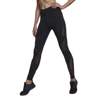 Ženske hlače (tajice) URBAN CLASSICS - Triangle Tech Mesh - blk / blk, URBAN CLASSICS