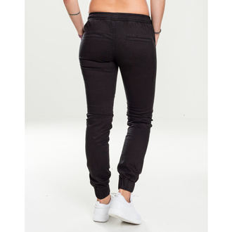 Ženske hlače URBAN CLASSICS - Biker Jogging - crno, URBAN CLASSICS