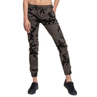 Ženske hlače URBAN CLASSICS - Camo Jogging, URBAN CLASSICS
