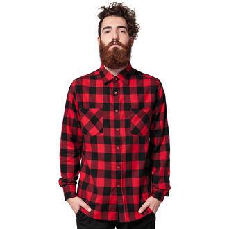 Muška košulja URBAN CLASSICS - Checked Flanell, URBAN CLASSICS