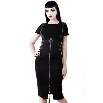 Ženska suknja KILLSTAR - Tempest - BLACK, KILLSTAR