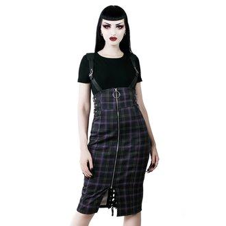 Ženska suknja KILLSTAR - Tempest - TARTAN, KILLSTAR