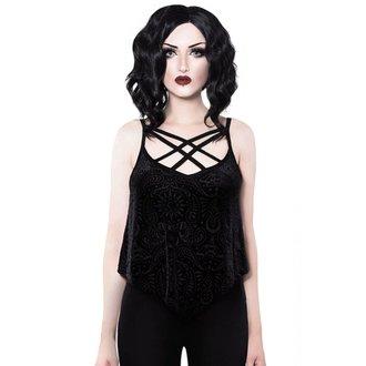 Ženska majica Top KILLSTAR - Thea - BLACK, KILLSTAR