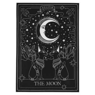 Zastava KILLSTAR - The Moon - BLACK, KILLSTAR