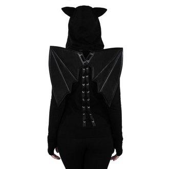 Ženska majica s kapuljačom KILLSTAR - Tokyo Nights I'm A Bat - Black, KILLSTAR