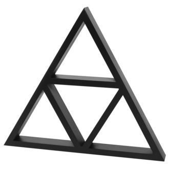 Ukras KILLSTAR - Triangle Wall Shelf, KILLSTAR