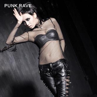 Gotik i punk ženska majica - MeshMerizer - PUNK RAVE, PUNK RAVE